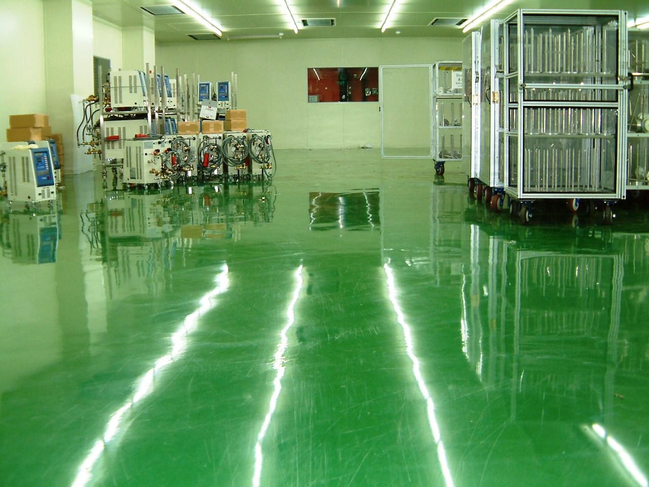 環氧樹脂地板(EPOXY FLOOR)